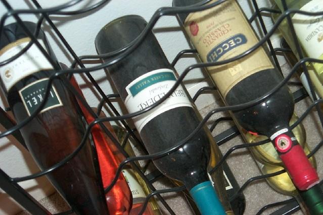 Wijnrek industrieel